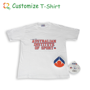 compressed t-shirt all shape 100% cotton promotional white t-shirt