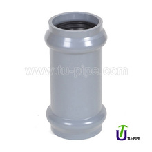 MPVC Two faucet couplings DIN (With Rubber Ring)