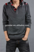 2013 Latest winter design for men's sweater brands