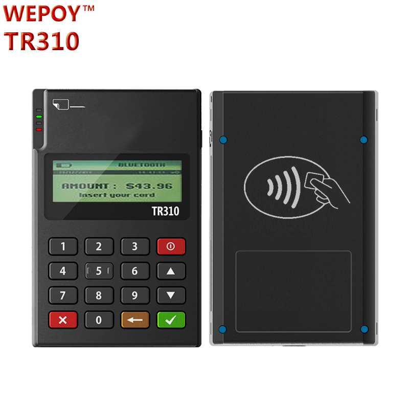 bluetooth mini payment machine nfc card reader