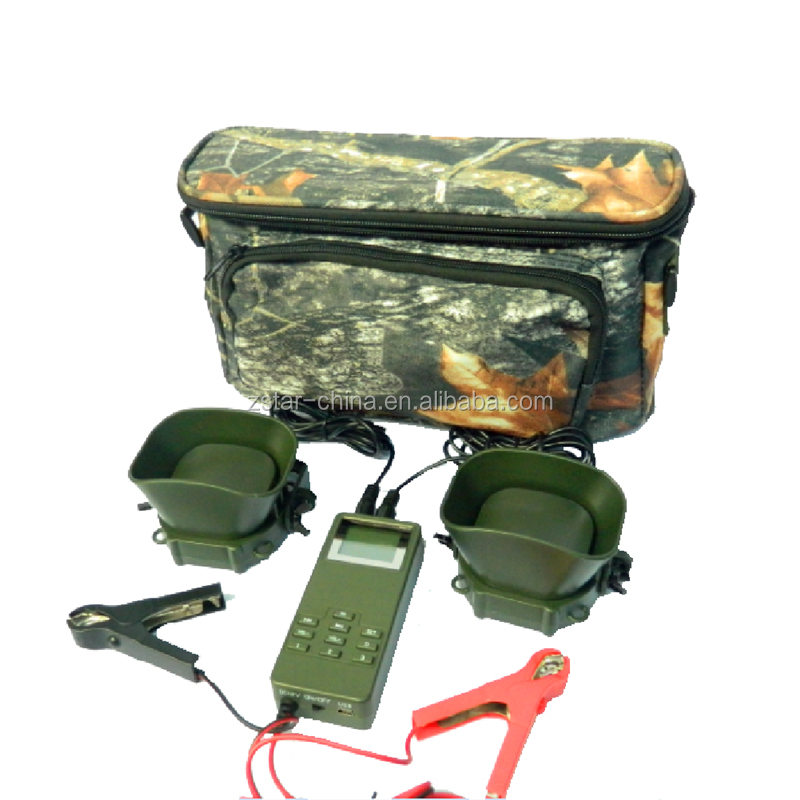 Hot selling 50w 150db sound loudly hunting bird machine with 2 speakers