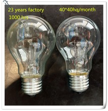 E27 B22 75w 100w 127V 220v frosted clear incandescent bulb