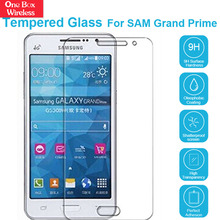 9H High Touch-Tempered Glass Film Fingerprint Resistant 2.5D Screen Protector for Samsung Grand Prime/G5308/G5306/G5