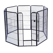 New 8 Panel strong Heavy Duty Pet Playpen Exercise Pen pet supply China