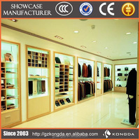 Fashional design High End Mens wear Retail Clothing Luxury Store display Fixtures