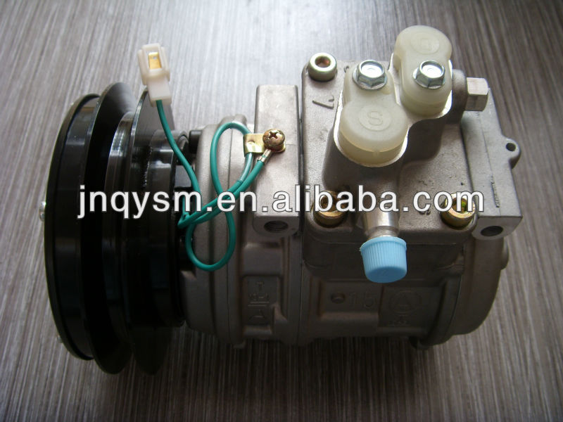 excavator cooling system PC200-7 air compressor