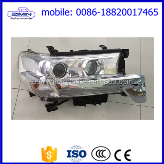 headlight head lamp for toyota land cruiser fj200 2016