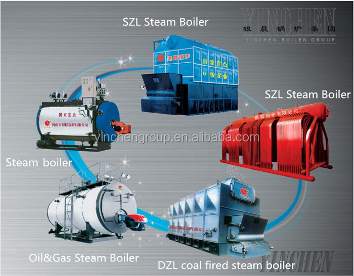 Heavy Fuel Oil Small Steam Boilers Heater And Boiler With Feed Water ...