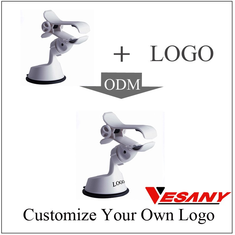 Vesany 360 Graus Rotating Air Vent Car Mount Holder Telefone