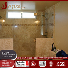 Bathroom frameless glass shower screen hardwares