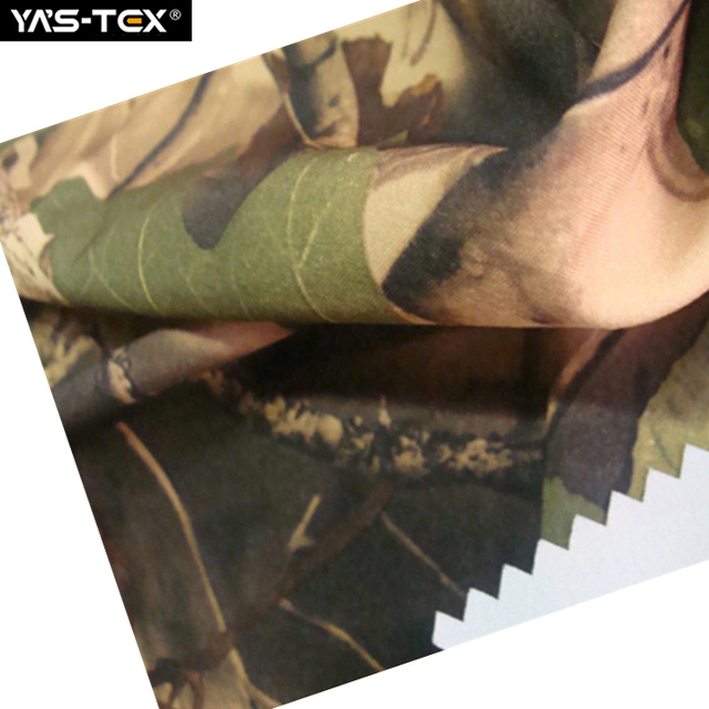 Woven camouflage printed polar fleece fabric 100 polyester fabric