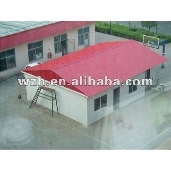 Messa a terra prefabbricato case portatile piccola casa - Casa senza messa a terra ...