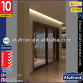 European Standard Aluminum Clad Wood Sliding Door With German Hardware