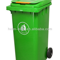 120L Outdoor Plastic Waste Bin With
