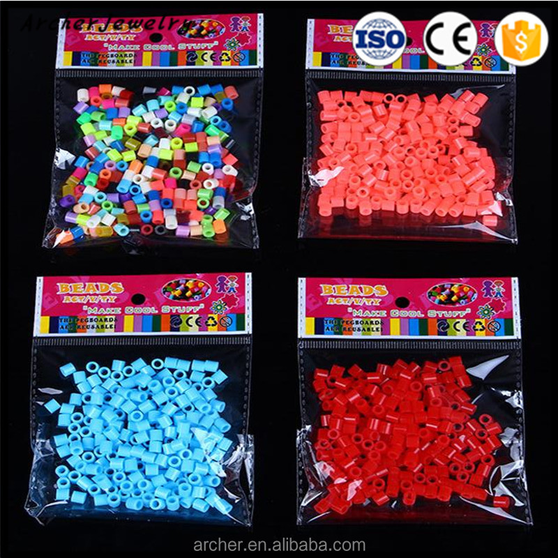 High quality wholesale 5mm hama perler beads fuse beads DIY-49