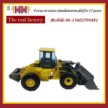 Diecast model roadheader diecast engines 20cm long tractor model with figure for display