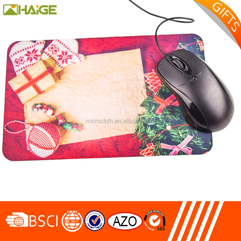 Wholesales Microfiber high density mouse pad,mousepad sublimation microfiber cloth