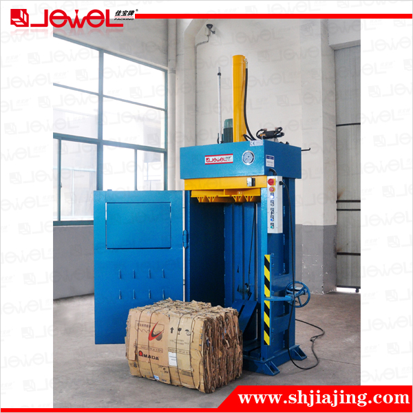 CE certified factory direct sale small-sized vertical hydraulic pressure baling machine cardboard press