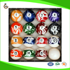 HOT SELL Pool Table Billiard Ball Set, Marble/Swirl Style