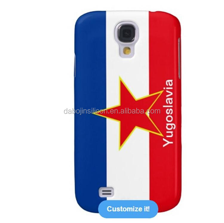 Unique Designs Yugoslavia flag silicone case for <strong>mobile</strong> phone