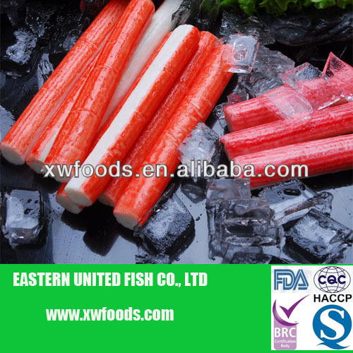 frozen surimi imitation crab stick