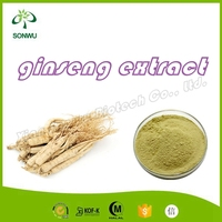 halal changbai ginseng extract/ginseng roots extract for sale