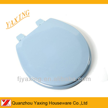 Yaxing american standard mould wooden ceramic look toilet seat
