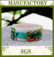 hot selling product made in china free sample DIY decoration custom printed masking tape wholesale
