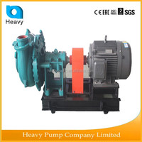 Low noise river sand Dredge water pumping machine with impeller