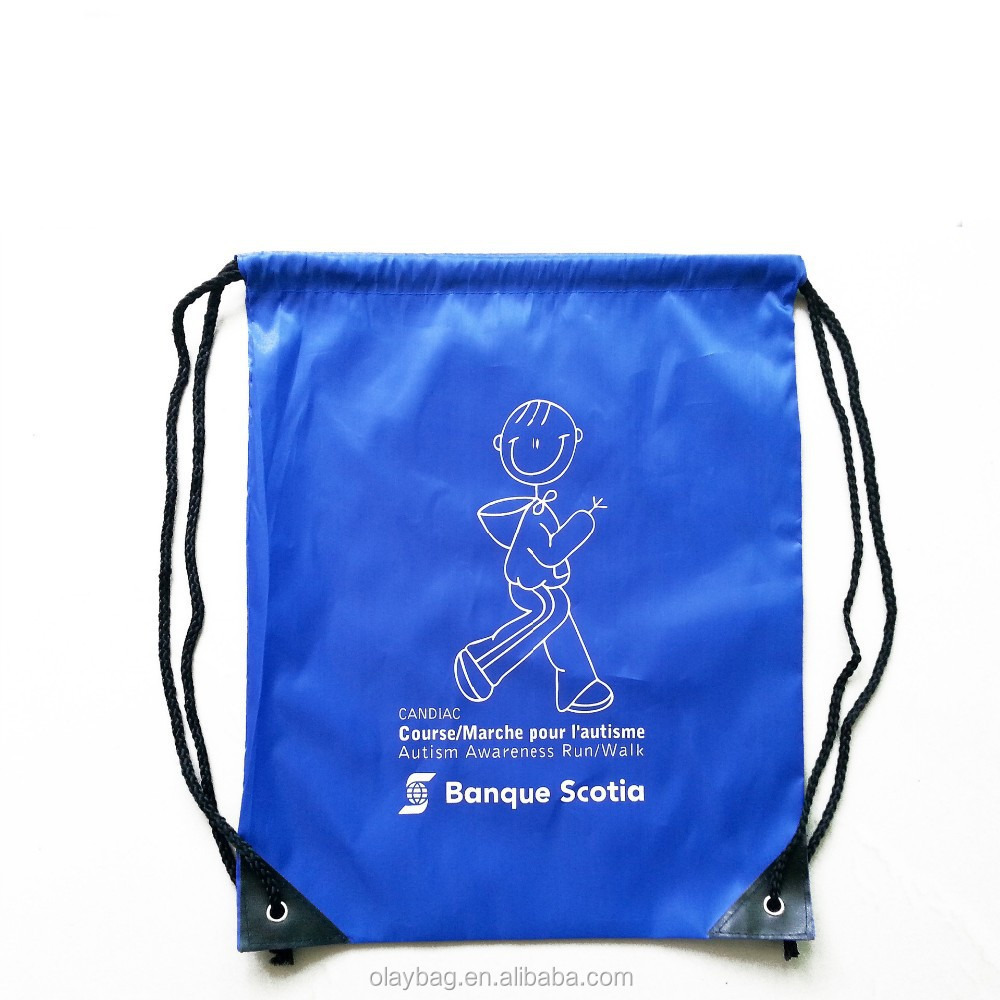 Recyclable Feature and Drawstring Sealing & Handle Storage Shoe Bag