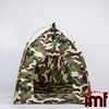 Outdoor Travel Safety Pet Shelter Toy Storage camouflage Dome Pet Tent