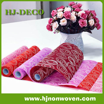 Foamed Non woven table runner for table decoration