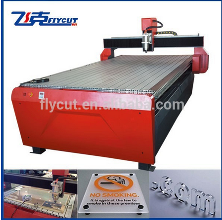 mini 3D cnc advertising router for mould casting