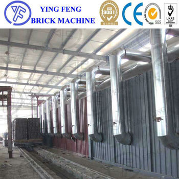 Modern natural gas tunnel kiln,oil fuel tunel kiln