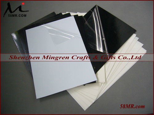 0.2MM-2.0MM Black and White Self Flush Mount Photo Book Album PVC Page