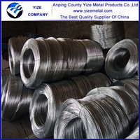 High tensile strength galvanize 3mm diameter flat steel wire