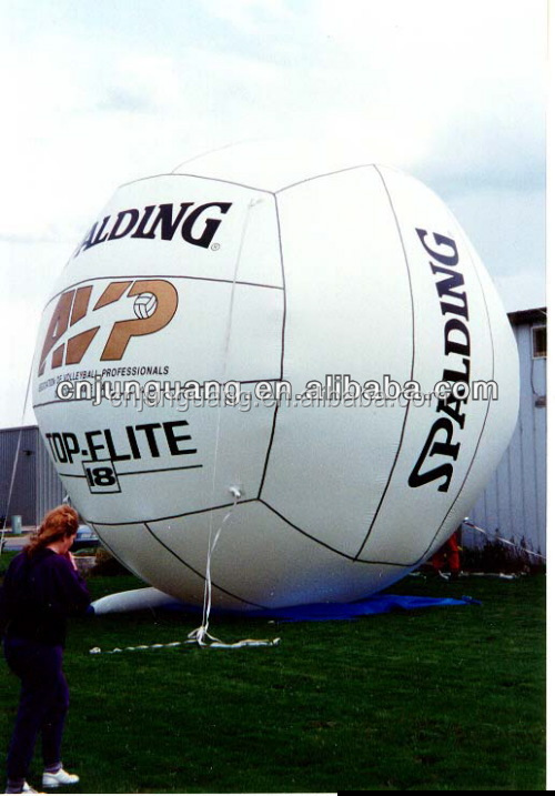 advertising inflatable volleyball