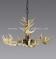 2015 Christmas decoration antler chandelier lamp with CE