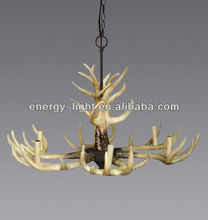 2017 Modern decoration antler chandelier lamps/light for christmas with CE