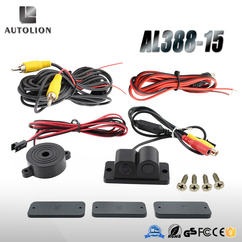2015 new product 2 in1 parking sensor portable car parking sensor system with sensor