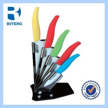 colourful top quality durable ceramic knife