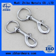 Stainless steel swivel round eye bolt snap hook for sale