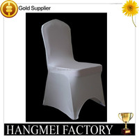 Factory wholesale spandex wedding chair covers for weddings