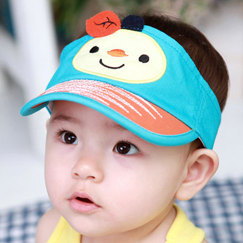 Very Cute Baby Boy Summer Hats Grid Mesh Cap Hat Sun Suit 1 3years