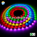 2014 new products ws2801 5050smd 36leds/m 9w/m IP65 waterproof flex dream color led strip used as electronic component
