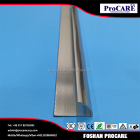 Gold supplier china aluminum window extrusion profile tile trim