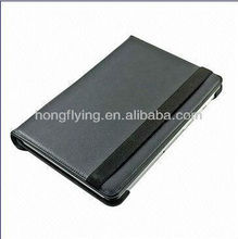 selling well ,360 degree Rotary Genuine or PU Stand Leather Case/Cover for Samsung Galaxy p5100 Tablet