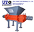 High capacity factory price Double Shaft Shredder / Dual Shear Shredder / Two Rotor Crusher