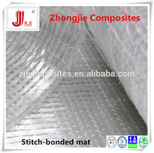 Light weight stitch combo mat silicone fiberglass machine detail
