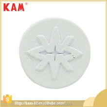 Hot sale cheap round metal jeans white tack button factory